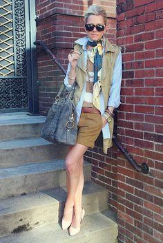 Whether you're into sleek tailored looks or a trendy bohemian style, safari chic can work for you. Here are 3 ways to add safari style to your look. Ysl, Pomellato, Karen Walker, David Yurman, Zara, Spring Summer Fashion, Autumn Winter Fashion, Winter Style, Moda Safari