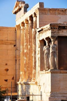 The Acropolis in Athens. Grecia. declarada patrimonio cultural de la Humanidad por la Unesco.