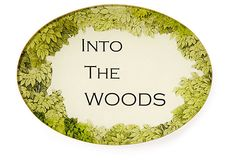 "7x5 Tray, ""Into the Woods"" on OneKingsLane.com"