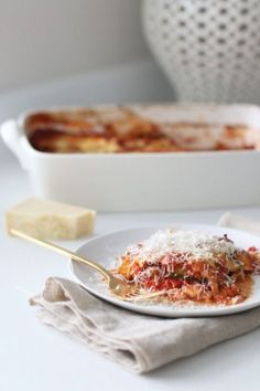 """Vegetarians shouldn't be relegated to a day full of side dishes on Thanksgiving, so whip up a flavorful veggie lasagna to please your non-meat-eating guests. A well made pasta dish is sure to go over better than store bought """"tofurkey."""" Find the recipe here."""