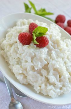 Free Rice Pudding Recipe with Mint and Raspberries : vegan : vegetarian : . , Dairy Free Rice Pudding Recipe with Mint and Raspberries : vegan : vegetarian : . , Dairy Free Rice Pudding Recipe with Mint and Raspberries : vegan : vegetarian : . Gluten Free Desserts, Dairy Free Recipes, Vegan Recipes, Cooking Recipes, Vegan Ideas, Oreo Dessert, Indian Food Recipes, Whole Food Recipes, Dessert Recipes