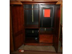 J.G. Hook Bassett Armoire/Hideaway Desk