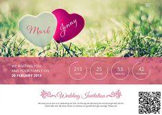 Matrimonio Bohemien Qr : Best wedding invitation with qr code images in dream