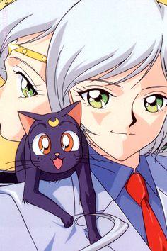 yaten/sailor star healer & luna