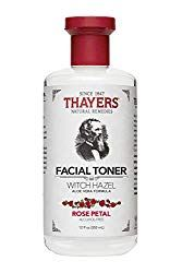 Thayers Alcohol-Free Rose Petal Witch Hazel Toner with Aloe Vera will make your skin bloom. Thayers remarkably soothing Rose Petal Toner is made with rose water, filet of aloe vera, and our proprietary Witch Hazel extract. Aloe Vera Haut, Aloe Vera Creme, Thayers Witch Hazel Toner, Thayers Toner, Organic Witch Hazel, Rose Toner, Lemon Toner, Alcohol Free Toner, Organic Aloe Vera