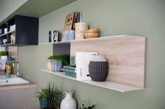Une simple étagère murale bien pratique, Cuisinella