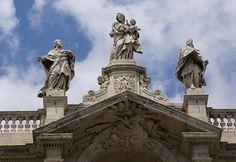 Rom, Piazza di Santa Maria Maggiore, Santa Maria Maggiore, Fassadengiebel (facade gable)