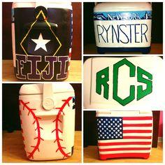 FORMAL COOLER #FIJI #americanflag #baseball #newyork #formalcooler #diy