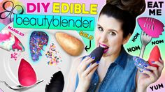 DIY Edible Beauty Blender   Eat Beauty Blenders For Lunch   How To Make ...