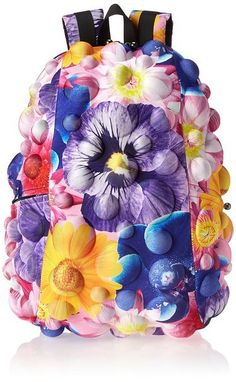 MadPax flower bubble backpack for kids | back to school shopping
