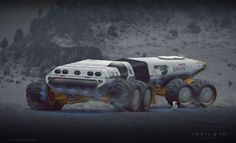 Drone Design : ArtStation Robinson the journey Rover concept design Ivan Tantsiura Robinson The Journey, Science Fiction, Cyberpunk, Play Vehicles, Tecno, Futuristic Cars, Futuristic Vehicles, Space Travel, Future Car