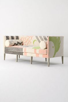 Ditte Sofa, Fred Shand Pink - anthropologie.com