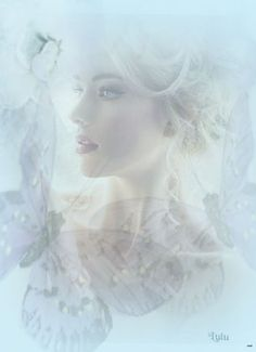 by Lulu Bell Photo Illustration, Digital Illustration, Most Beautiful Images, Beautiful Women, Double Exposure Photography, Wonderful Dream, Angel Images, Ethereal, Rose