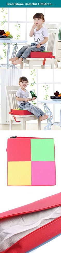 Brad Stone Colorful Children Kid Portable Chair Booster Seat Cushion Floor Seat Pad Oxford Adjustable. Material: fabric, oxford cloth Filling: Sponge Color: Multicolor Strap can adjust the size 15.74 -33.07 inch Washing: Hand wash Usage: There are two straps, you can adjust the length of the strap tied to a chair in which the seat plate, plug safety buckle, another bandage tied back, plug safety buckle, then adjust the length of the cushion to pull tight. For more than 24 months baby to…