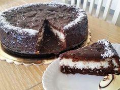"""מתכון עוגת שוקולד וקוקוס, עוגת שכבות שוקולד וקוקוס שיכולה להפוך בקלות לפרווה מבלי לפגוע בטעם ומתאימה מאוד לסופ""""ש"""