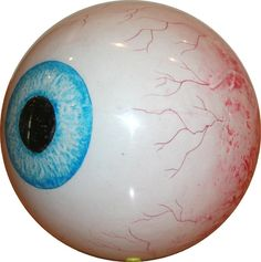 Eye Ball Clear Custom Bowling Ball - Does it come with an eye exam?