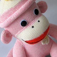 OM goodness and pink sock monkey for you Daisy