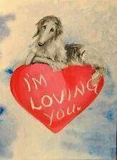 Borzoi Valentine.