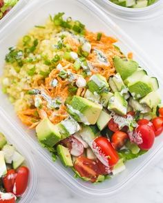 Dreaming of these Whole buffalo chicken meal prep bowls this Sunday morning Im busy doing our grocery shopping for the week brunching and launching a rocket ship with Leo today so I wont be meal prepping today Im hoping these magically appear in my fridge anyway Right wholelife wholelunch mealprepsunday mealprepideas buffalowings