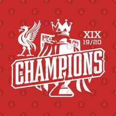 Liverpool Football Club, Liverpool Fc, Premier League Champions, Stickers, Awesome, Illustration, Check, Artwork, T Shirt