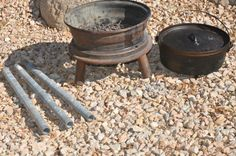 How To Make A Dutch Oven Stand On The Cheap - Food Storage Moms
