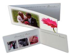 pinke Gerbera - Dankeskarten mit Fotos zu den Hochzeitseinladungen Gerbera, Pictures, Card Wedding, Nice Asses