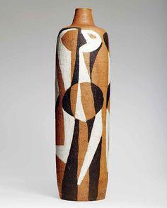 Ceramic Vase by Kåre Breven Fjeldsaa