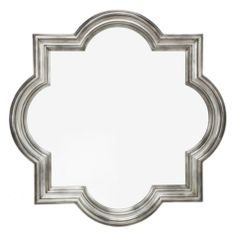 Quatrefoil Mirror from Z Gallerie - gorgeous, bold statement piece for a bedroom dresser!