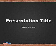 Plantilla PowerPoint de Pizarra es un diseño de PowerPoint ideal para ser…