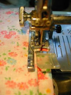 Most people are completely unaware that their sewing machine can do a gorgeous invisible hemstitch—and in much less time than it takes to do by hand! My step-by-step tutorial will show you how.