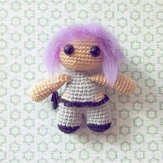 Motoko Kusonagi amigurumi toy, Ghost in the shell