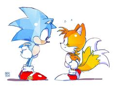 Sonic and Tails Sonic Mania, Sonic 3, Sonic Fan Art, Sonic The Hedgehog, Shadow The Hedgehog, Kids Cartoon Characters, Pikachu, Pokemon, Classic Sonic
