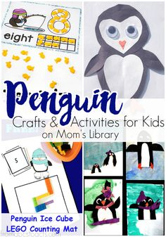Perfect for a winter or arctic animal theme, your preschooler is going to love these penguin themed crafts and activities!
