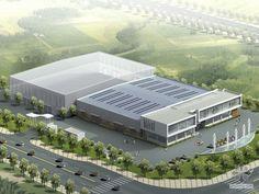 [北京]某机械有限公司厂区规划及建筑方案设计(方案及实景照片)