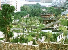 Kowloon Walled City park.
