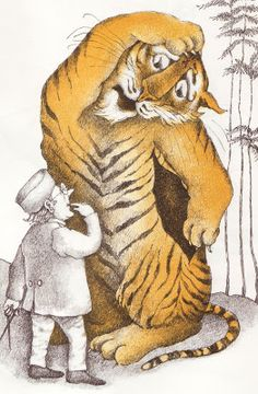 The Terrible Tiger Jack Prelutsky pictures by Arnold Lobel MacMillian, 1970 I happen to like books for kids that are a wee bit spo. Art And Illustration, Book Illustrations, Arnold Lobel, C Is For Cat, Vintage Children's Books, Vintage Kids, Character Concept, Cover Art, Childrens Books