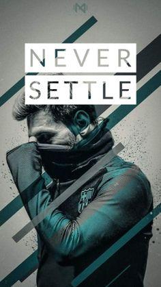1 never settle