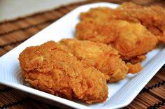 #Receta Alitas de pollo con costra crujiente, ideal para compartir http://sconfir.com/1G2Q1Ct