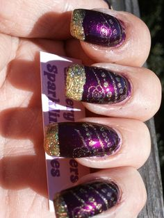 Glittery Fingers & Sparkling Toes: Day 15: Delicate Print, R31DC