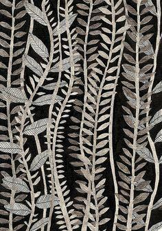 Illustration by Eleanor Taylor Motifs Textiles, Textile Patterns, Color Patterns, Print Patterns, Leaf Patterns, Stoff Design, Illustration Blume, Motif Floral, Surface Design