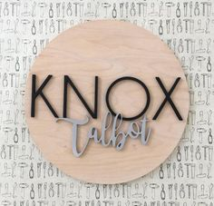 Nursery Name Sign 18 Wood Name Sign The Modern