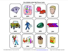 Initial J: Free Speech Therapy Articulation Picture Cards - Pinned by @PediaStaff – Please Visit http://ht.ly/63sNt for all our pediatric therapy pins