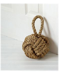Technically a doorstop but I love it because it's my favorite knot.
