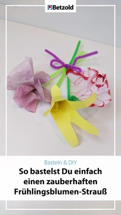 Craft Instructions For Kids, Spring Crafts, Easter Crafts, Flowers, Craft, Diy, Cute Ideas, Smoking Pipes, Papercraft