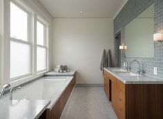 Updated Edwardian - contemporary - bathroom - san francisco - Sutro Architects