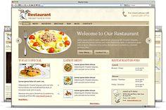 restaurant website tips