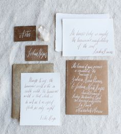 Rustic Wedding invitation, hand made painting