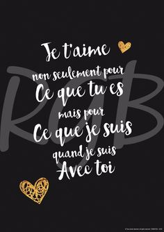 Digital picture, love declaration theme, obtain file - Positive Affirmations, Positive Quotes, Best Quotes, Love Quotes, Quotes Inspirational, Thank You Quotes, French Quotes, Quote Prints, Love Words