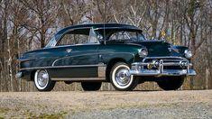 1951 Ford Victoria Hardtop | W249.1 | Indy 2018 Classic Car Garage, Bmw Classic Cars, Old American Cars, Amc Javelin, Ford Galaxie, Lifted Ford Trucks, Pontiac Gto, Car Ford, Bugatti Veyron