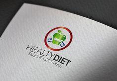Healty Diet Logo by Esse Logo Studio on Creative Market
